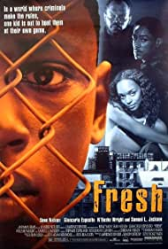 Samuel L. Jackson, Giancarlo Esposito, Sean Nelson, and N'Bushe Wright in Fresh (1994)