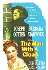 The Man with a Cloak Poster
