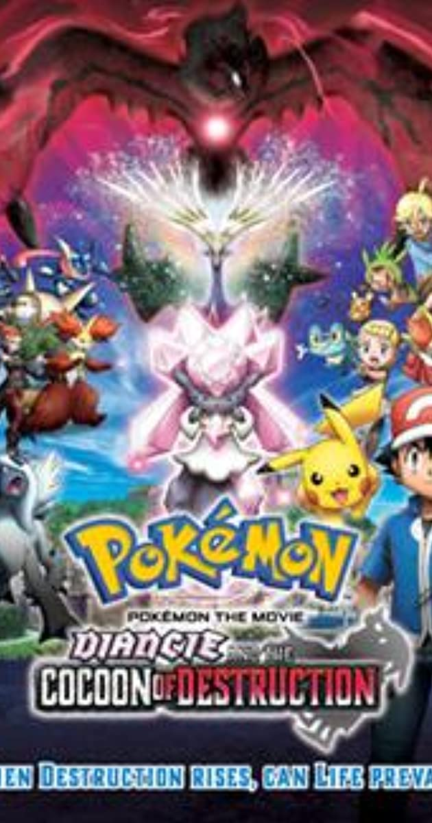 Pokemon The Movie Diancie And The Cocoon Of Destruction 2014 Imdb