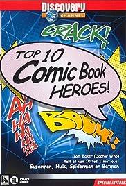 Top 10 Comic Book Heroes Poster