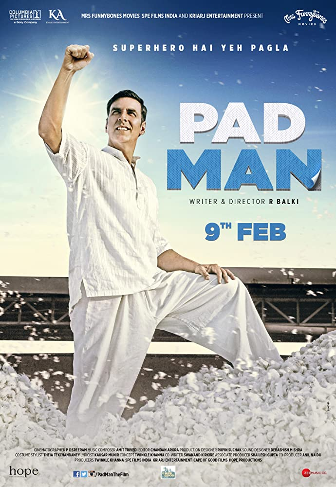 Pad man Hindi(2018)