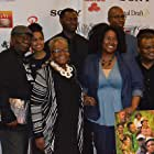 Irma P. Hall, Willie Minor, Anthony Fort, Brandon Lewis, and Seckeita Lewis at an event for Jerico (2016)