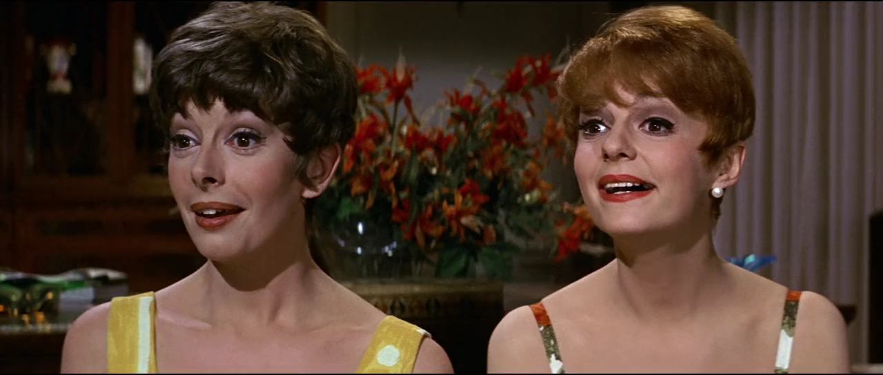 Monica Evans and Carole Shelley in The Odd Couple (1968)