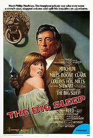 Robert Mitchum and Candy Clark in The Big Sleep (1978)