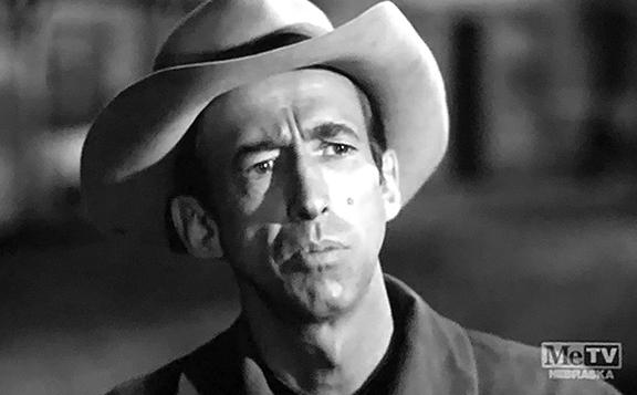 Norman Leavitt in Trackdown (1957)