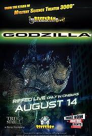 RiffTrax Live: Godzilla Poster