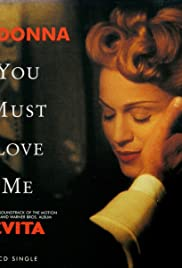 Madonna: You Must Love Me Poster