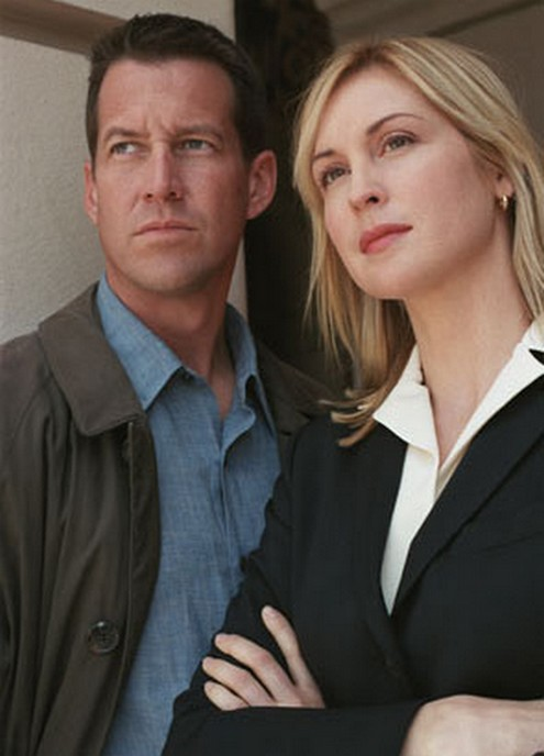 Kelly Rutherford and James Denton in Threat Matrix (2003)