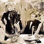 Marlene Dietrich, Lucia Carroll, Joyce Compton, and Barton MacLane in Manpower (1941)