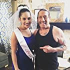 """Photo with co-actor Danny Trejo from """"Bridesman"""""""