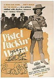Pistol Packin' Mama Poster