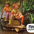 Inger Nilsson, Maria Persson, and Pär Sundberg in Pippi Långstrump (1969)