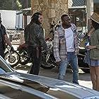 Omar Epps and Paula Patton in Traffik (2018)