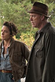 Michael Gaston and Janet Kidder in The Man in the High Castle (2015)
