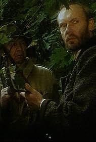 Ryszard Kotys and Andrzej Precigs in Tajemnica puszczy (1991)