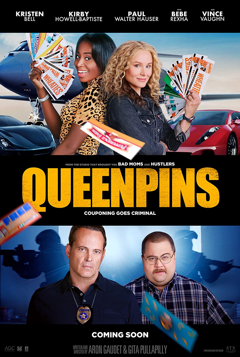 Download Queenpins (2021) Telugu Dubbed (Voice Over) & English [Dual Audio] WebRip 720p [1XBET] FREE on 1XCinema.com & KatMovieHD.sk