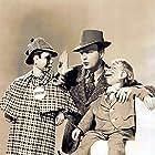 Edgar Bergen, Charlie McCarthy, and Mortimer Snerd in Charlie McCarthy, Detective (1939)