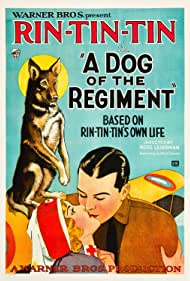 Tom Gallery, Dorothy Gulliver, and Rin Tin Tin in A Dog of the Regiment (1927)