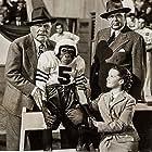 Edmund Gwenn, Gene Lockhart, Gigi Perreau, and Bonzo in Bonzo Goes to College (1952)
