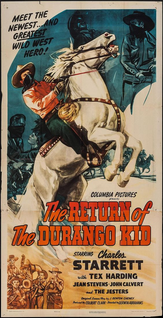 Charles Starrett in The Return of the Durango Kid (1945)