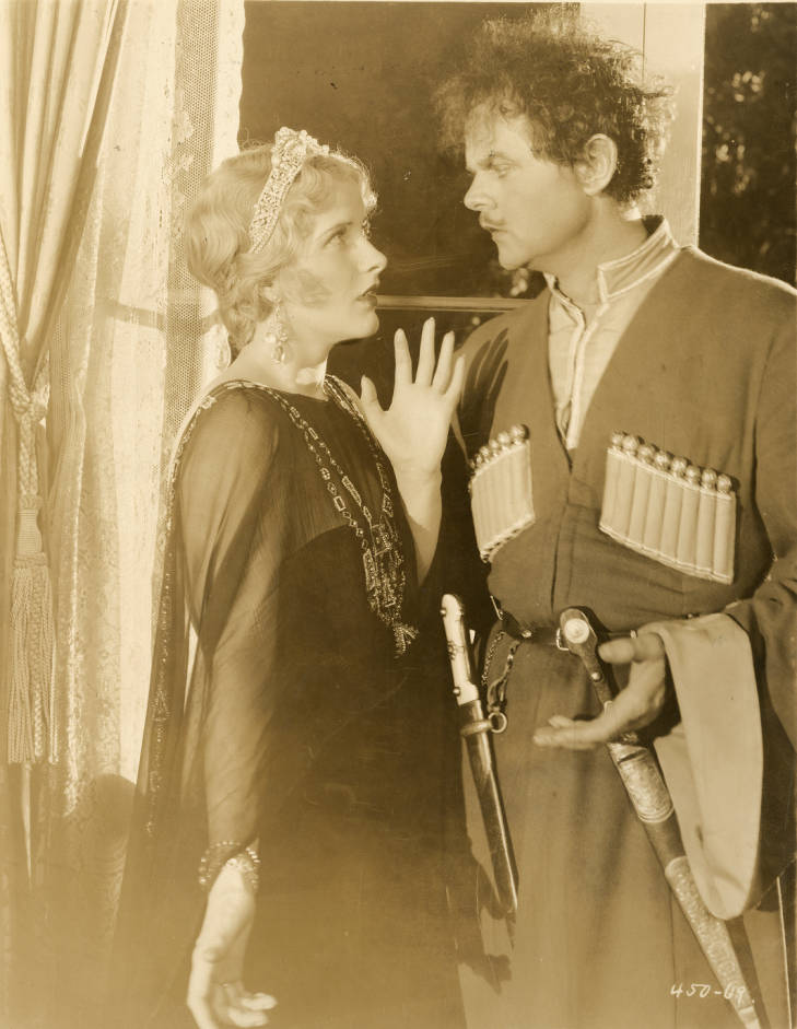 Catherine Dale Owen and Lawrence Tibbett in The Rogue Song (1930)
