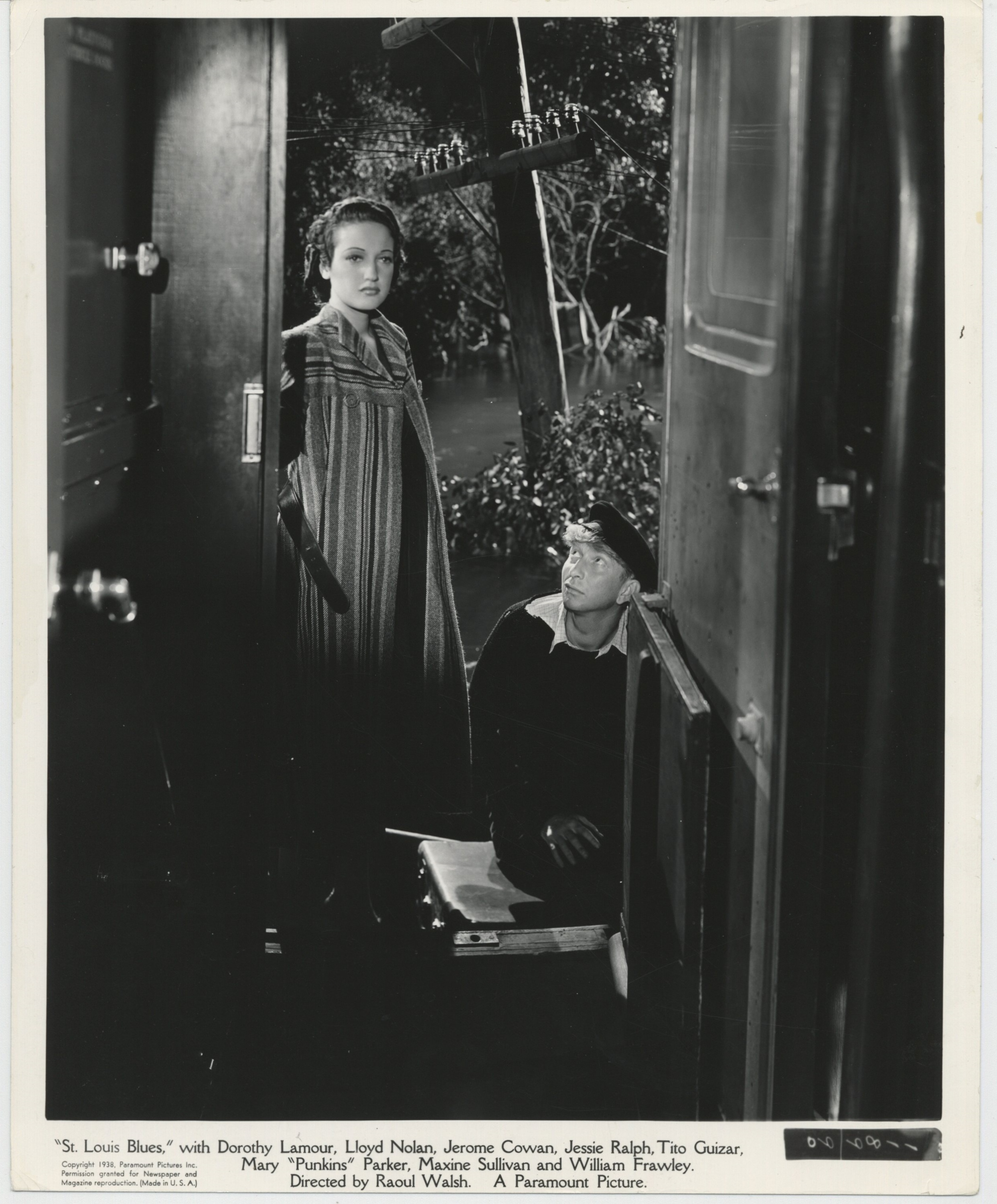 Sterling Holloway and Dorothy Lamour in St. Louis Blues (1939)