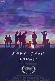 Robyn Deverett, Nicholette Williams, Ronaksinh Parmar, Zafir Ahmed, Caillin Hale, and Janae Kelly-Clarke in More Than Friends (2017)
