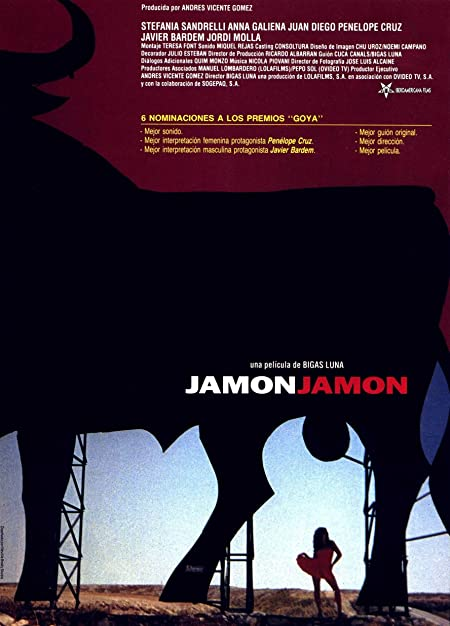 Jamón, Jamón (1992) Spanish Blu-Ray - 480P | 720P | 1080P - x264 - 300MB | 850MB | 1.8GB - Download & Watch Online With Subtitle Movie Poster - mlsbd
