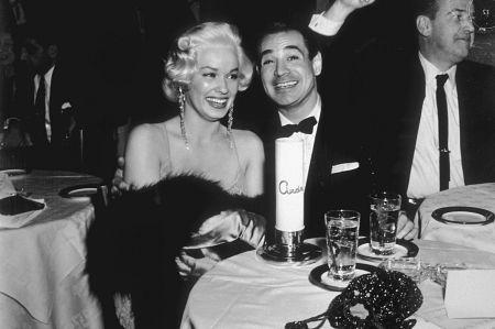 Ciro's Nightclub Mamie Van Doren & Ray Anthony c. 1957