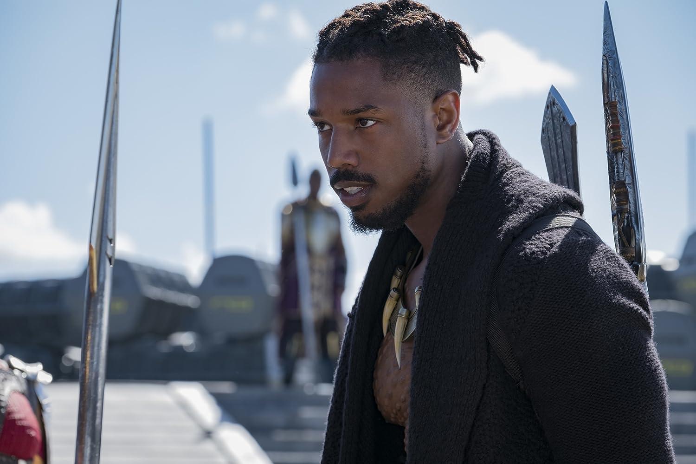 Karakter Erik Killmonger diperankan oleh aktor sekaligus pemain basket Michael B. Jordan.