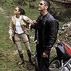 Angelina Jolie and Gerard Butler in Lara Croft Tomb Raider: The Cradle of Life (2003)