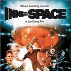 Meg Ryan, Dennis Quaid, Martin Short, Henry Gibson, Wendy Schaal, and Vernon Wells in Innerspace (1987)