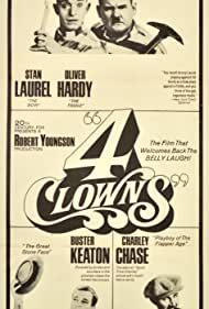 Buster Keaton, Oliver Hardy, Charley Chase, and Stan Laurel in 4 Clowns (1970)