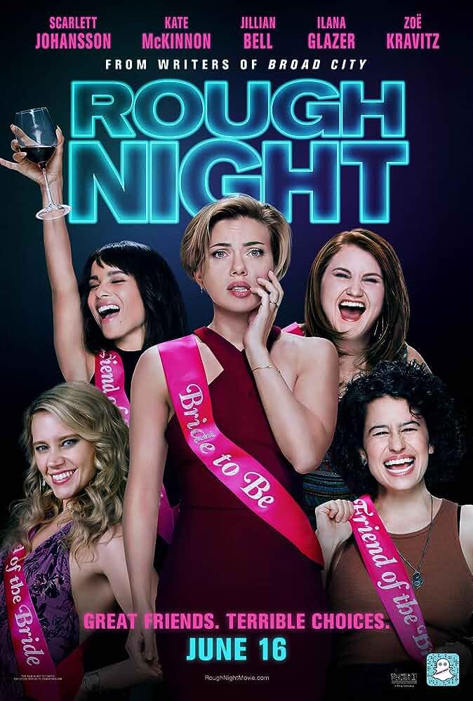 Rough Night (2017) in Hindi