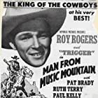Roy Rogers in Man from Music Mountain (1943)