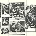 John Carradine, Alan Curtis, and Patricia Morison in Hitler's Madman (1943)