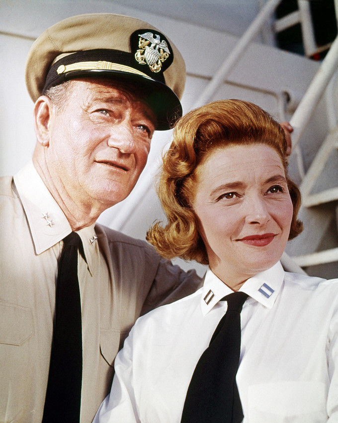 John Wayne and Patricia Neal in In Harms Way 1965