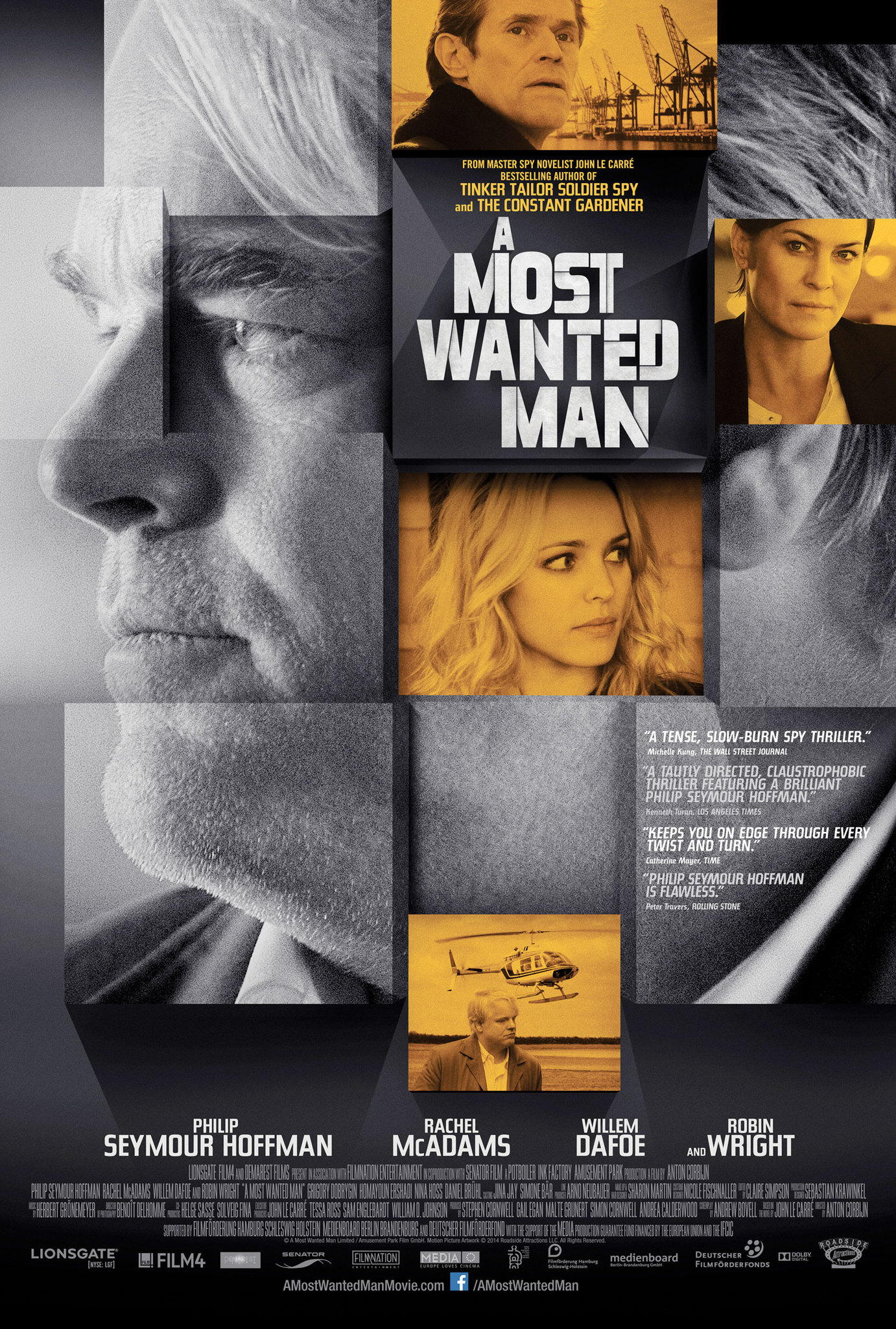 A Most Wanted Man (2014) BluRay 720p & 1080p