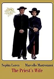La moglie del prete Poster