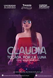 Claudia touched by the moon Poster