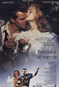 Dennis Quaid and Jessica Lange in Everybody's All-American (1988)