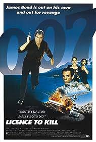 Carey Lowell, Talisa Soto, Timothy Dalton, and Robert Davi in Licence to Kill (1989)