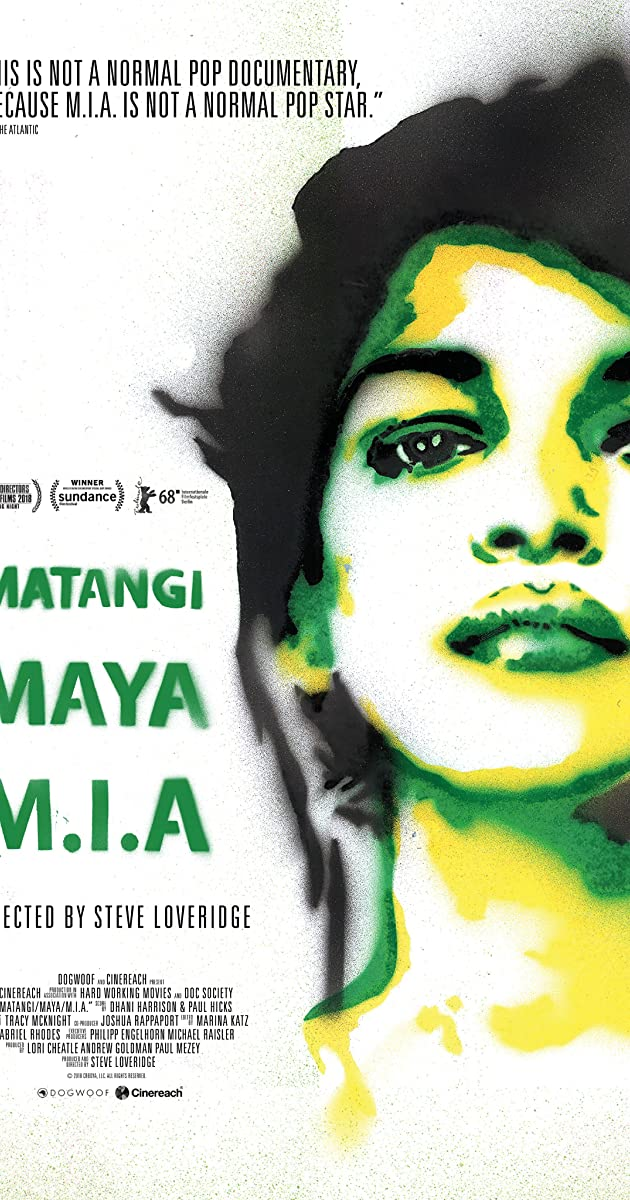 Subtitle of Matangi/Maya/M.I.A.