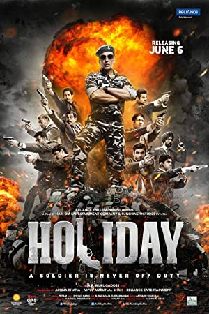 Holiday (2014) Download on Vidmate