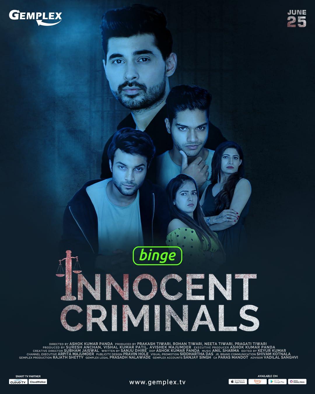 18+ Innocent Criminals 2021 Hindi S01 Complete Gemplex Original Web Series 720p HDRip 400MB x264 AAC