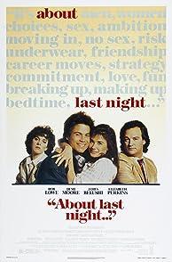 About Last Nightรักนี้...ยากจะบอกเธอ