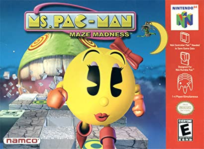 Psp full movie downloads Ms. Pac-Man Maze Madness [480i]