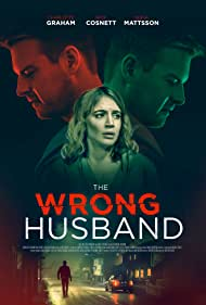 Rick Cosnett and Charlotte Graham in The Wrong Husband (2019)