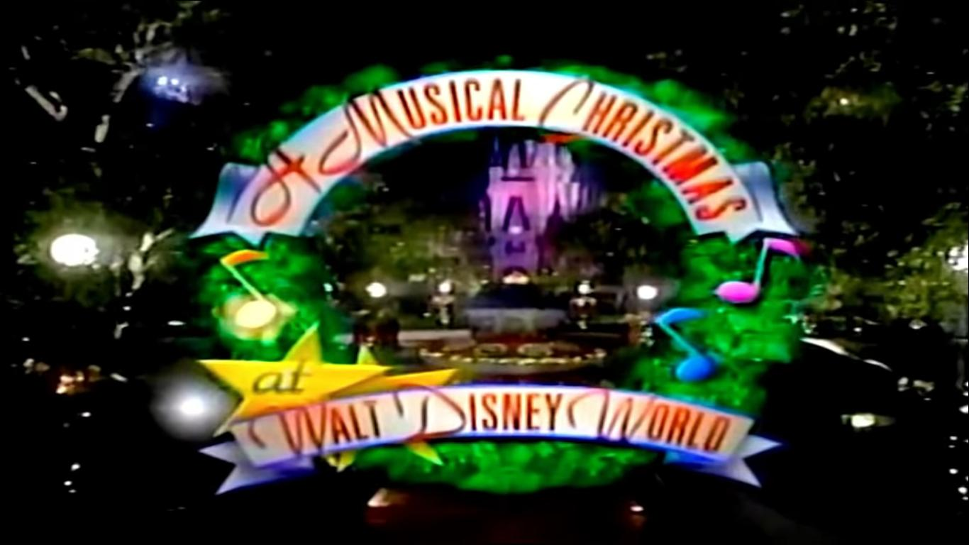 A Musical Christmas At Walt Disney World 1993