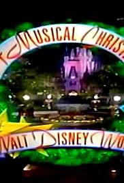 A Musical Christmas at Walt Disney World Poster